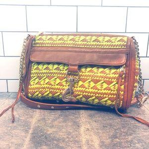 Rebecca Minkoff Woven NEON Leather MAC Bag
